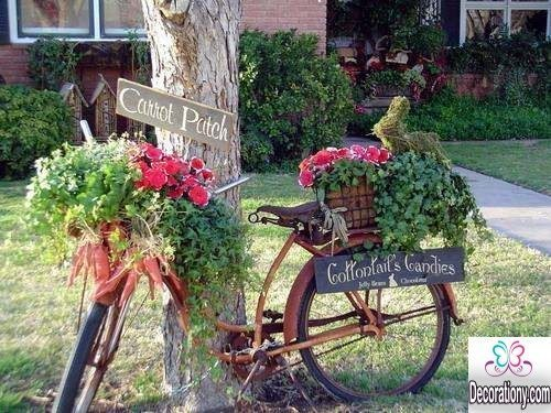 pretty garden decorating ideas