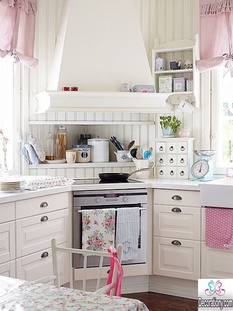 25 Nice Kitchens Decorating Ideas With A Pink Color