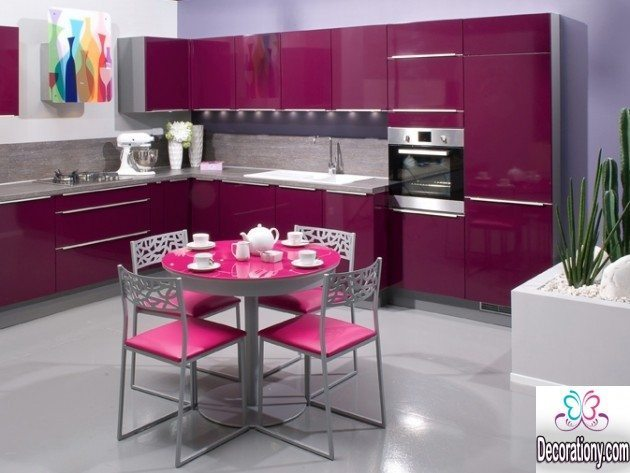 nice kitchens 25 Nice kitchens Decorating Ideas With a Pink Color