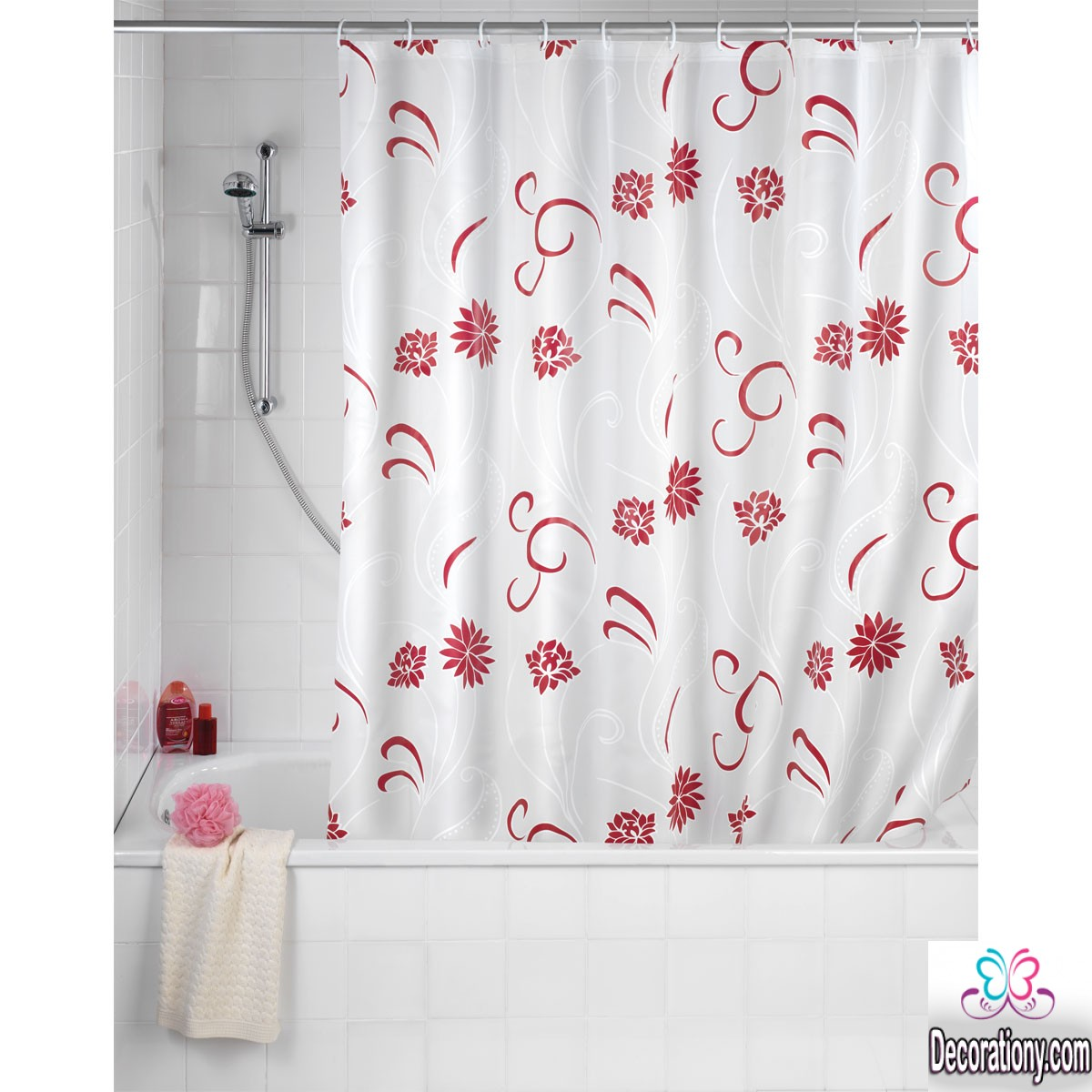 Amazing Bathroom Curtains Ideas Give The Place More Beauty