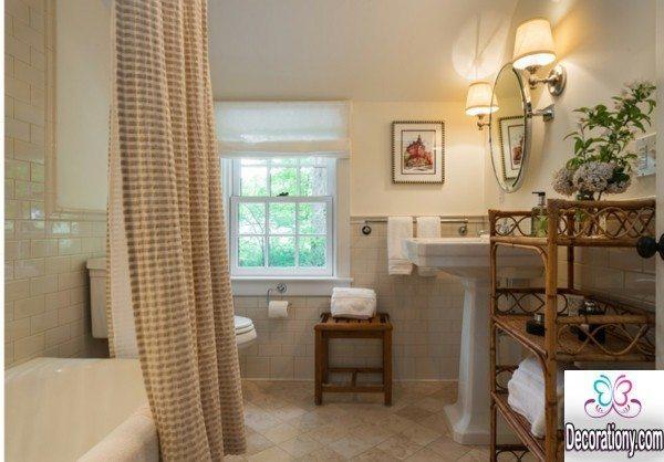 simple bathroom shower curtain