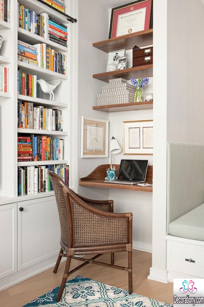 Inspirational Small Home Office Design Ideas For