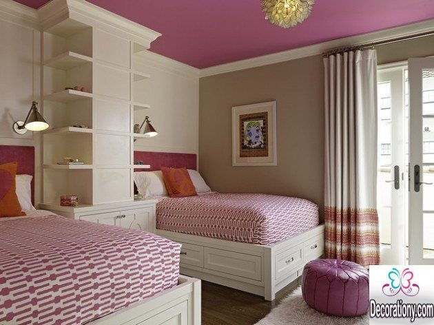 twins girls room design