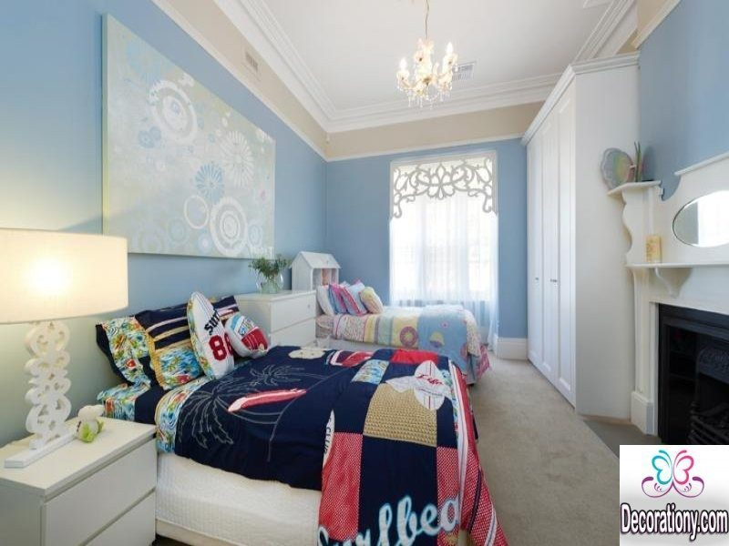 Attractive Twins Room Design Ideas For Kids Bedroom