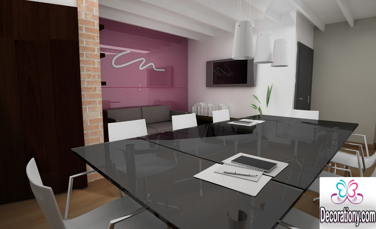 17 splendid office conference room design ideas office for Office room decoration ideas