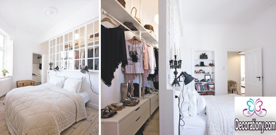 13 Creative Walk In Wardrobe Behind Bed Designs DecorationY