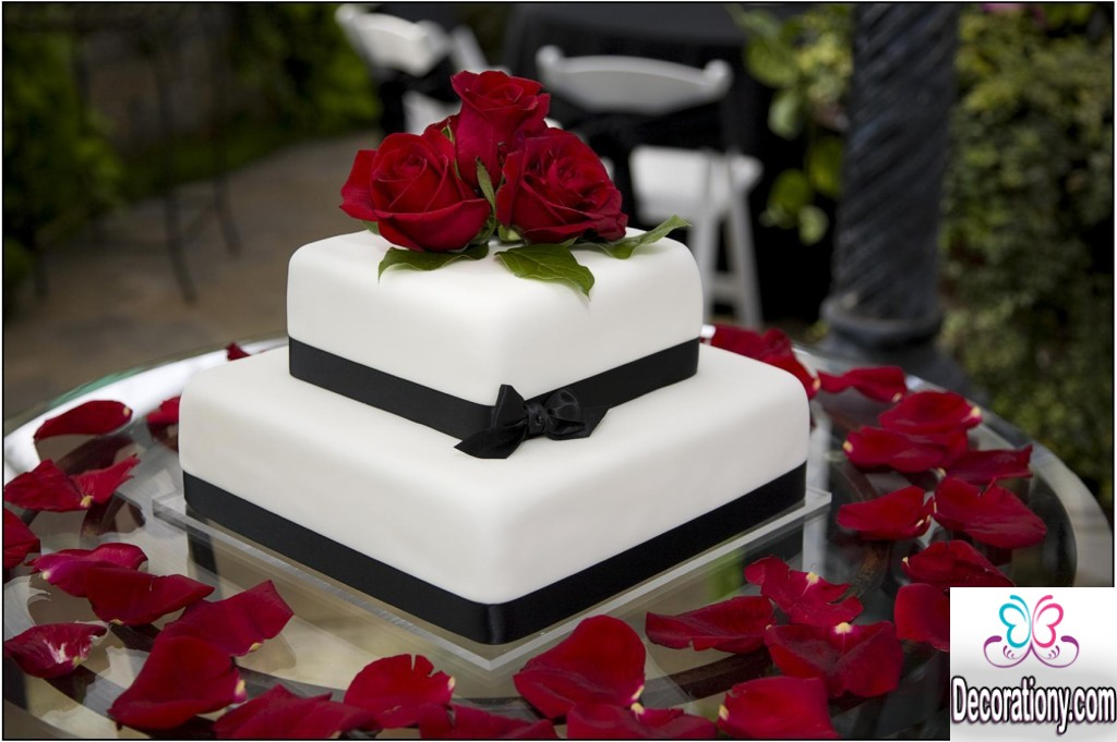Cake Design Ideas For Wedding : 20 Romantic cake designs for wedding anniversary ...