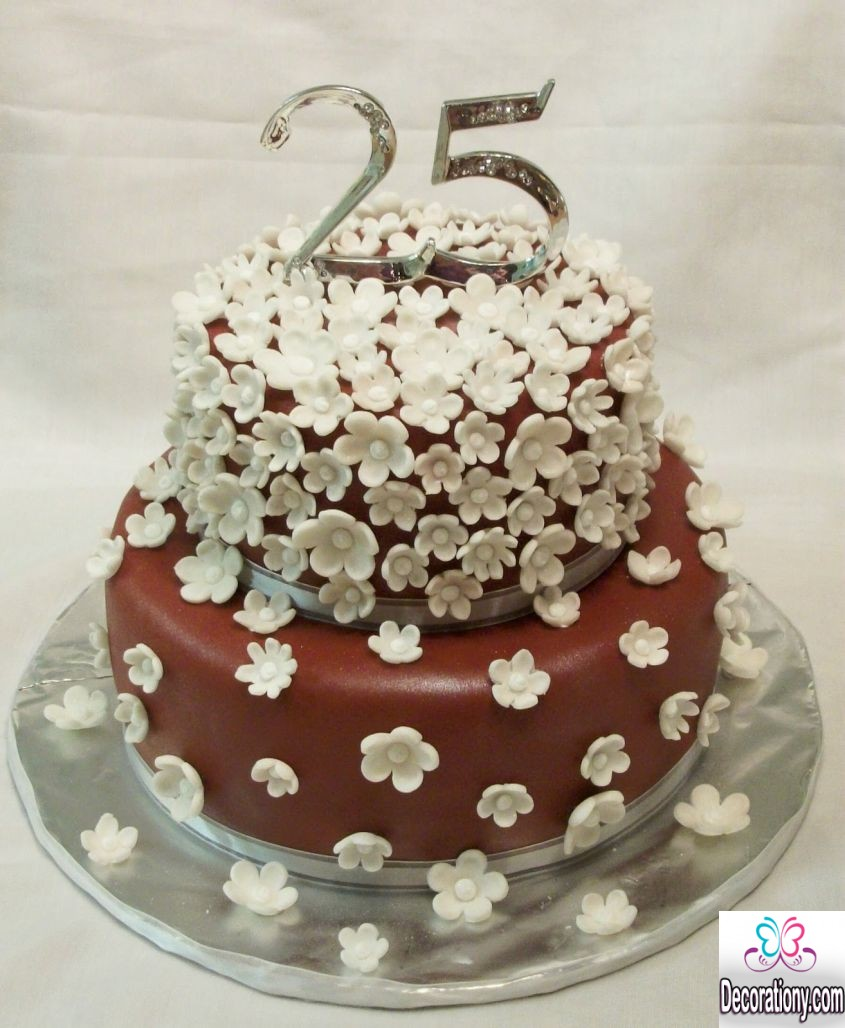 Cake Pictures For Anniversary : 20 Romantic cake designs for wedding anniversary ...