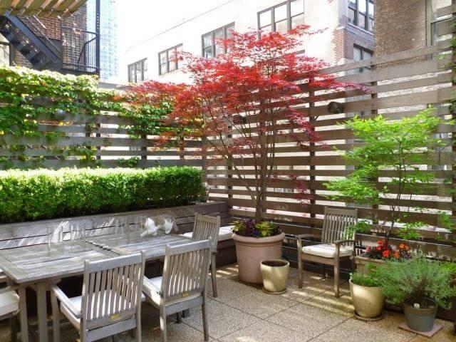 simple patio design
