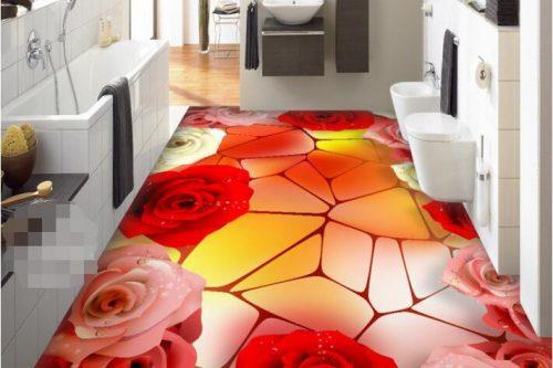 3d bathroom flooring