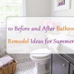 10 Before and After Bathroom Remodel Ideas for Summer 2016