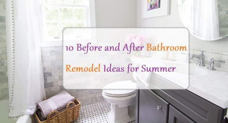 10 Before And After Bathroom Remodel Ideas For 2016 2017