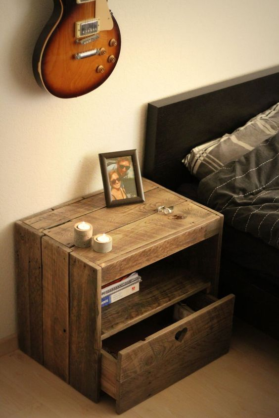 Creative Bedside Tables: 10 Stylish Bedside Table Designs That Fit In Modern