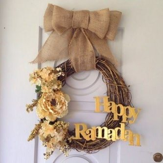 DIY Ramadan Wreath