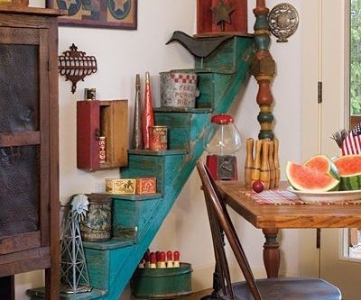 Easy DIY Decor Ideas Do It Yourself with Old ladder