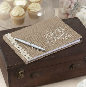 Wedding guest book design