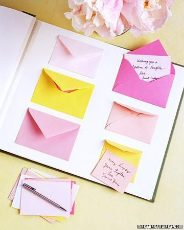 Wedding guest cards