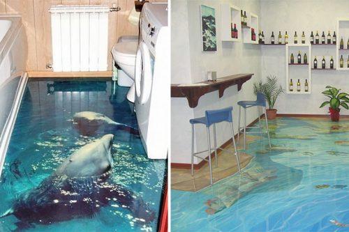 amazing 3D flooring Designs