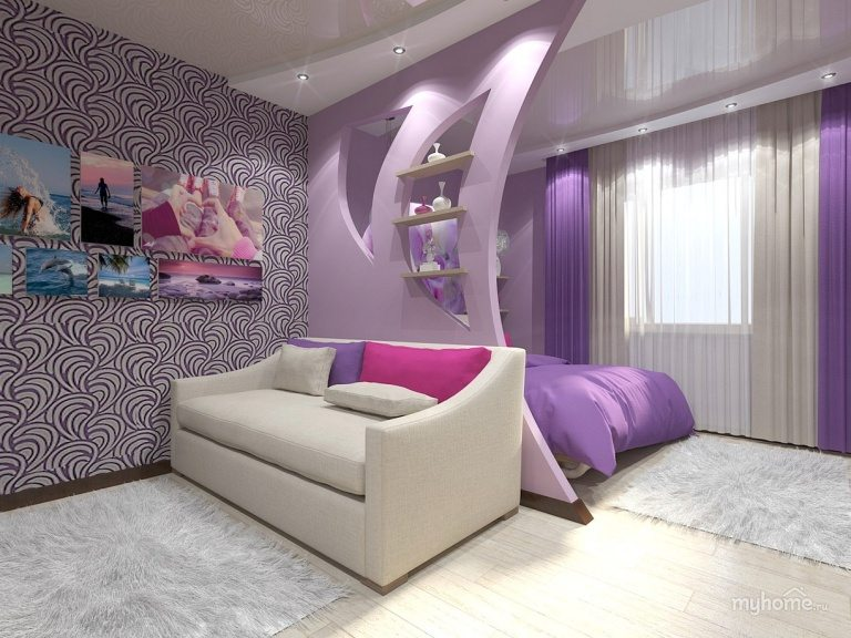 Modern Apartment bedroom decorations