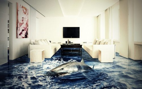 awesome 3D flooring