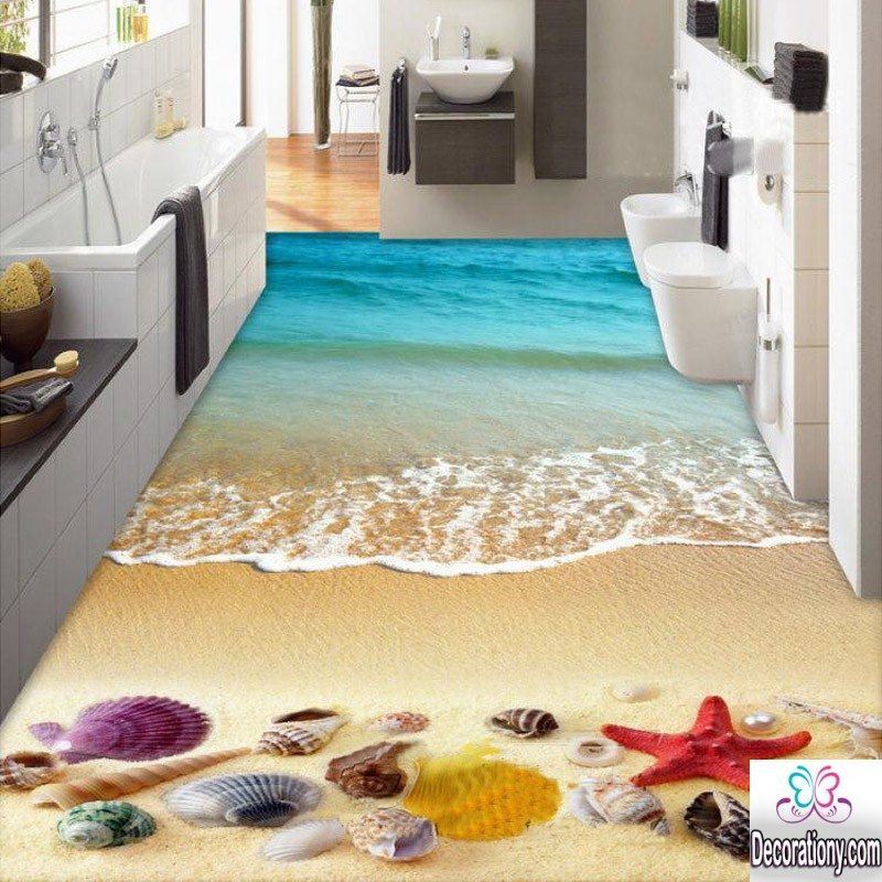 What s the latest 3d flooring designs decoration y for Beautiful floor designs