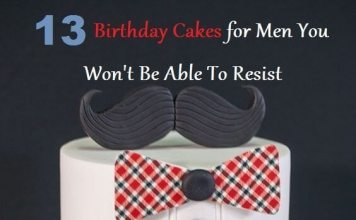 beautiful birthday cakes for men
