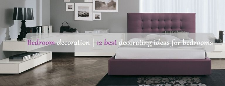 bedroom decoration ideas 2018/2017