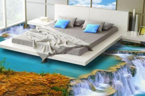 bedroom flooring designs