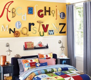 What about home decorating ideas with letters for Bedroom 5 letter words