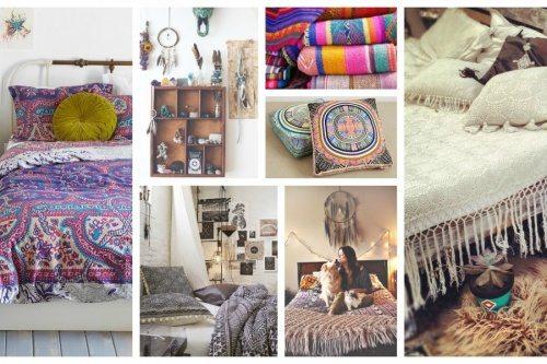 boho style bedroom