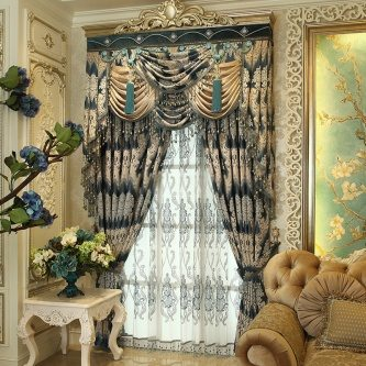 chic curatins and drapes