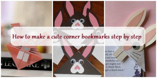 corner bookmarks ideas