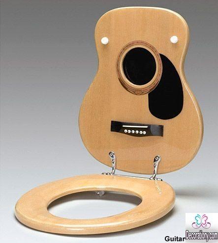 diy Guitar toilet seat