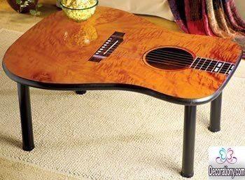 diy guitar table