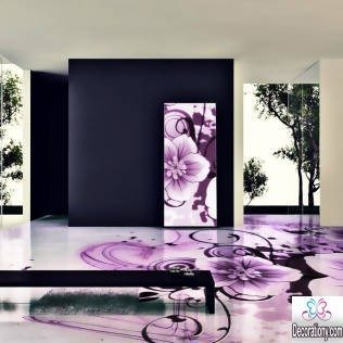 floral flooring