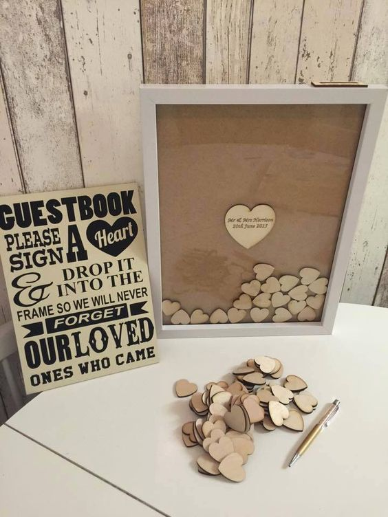 fun Wedding guest book