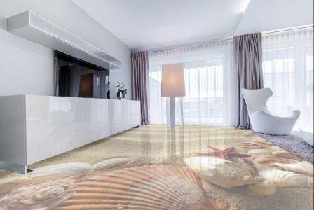 garage 3D epoxy flooring
