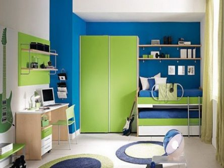 kids room painting color