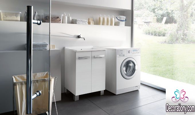 Ultra Modern Laundry Room Ideas For A Small Space