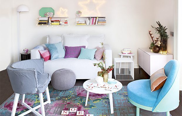 Living Room Decorating Ideas With Pastel Colors For Summer 2016