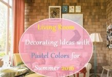 living room decor ideas with pastel colors