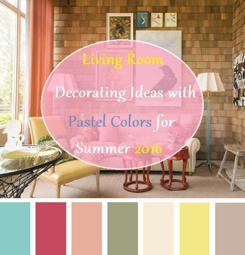 living room decorating ideas with pastel colors