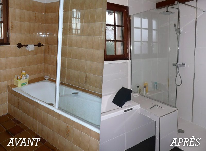 10 before and after bathroom remodel ideas for 2016 2017 for Bathroom remodel for 4000