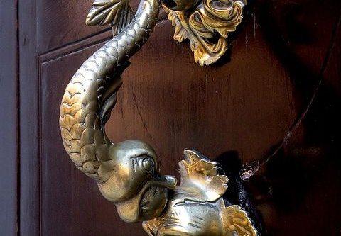 modern doorknob