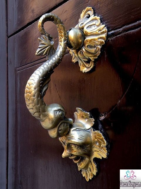 Strange Doorknobs To Add A Special Style To Your Entrance
