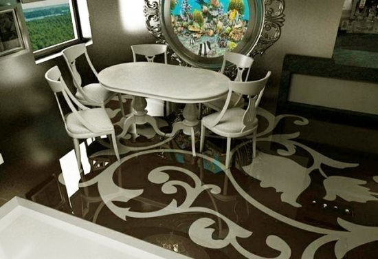 why the 3d epoxy flooring will trend 2016 decorations. Black Bedroom Furniture Sets. Home Design Ideas