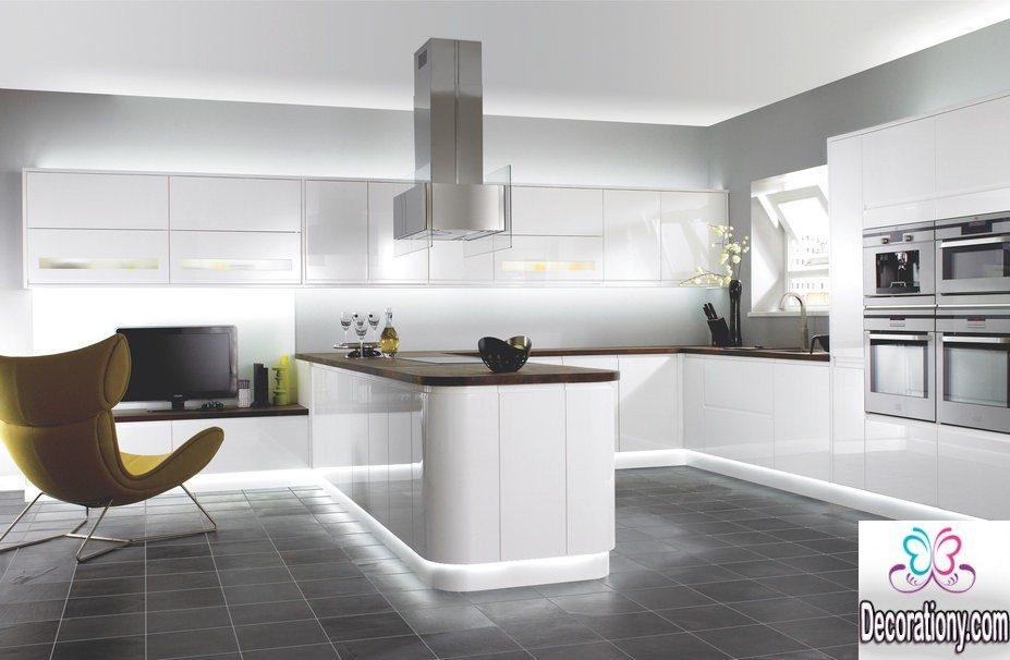 kitchen design ideas for white home interior design