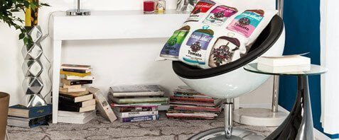 modern reading corner decor