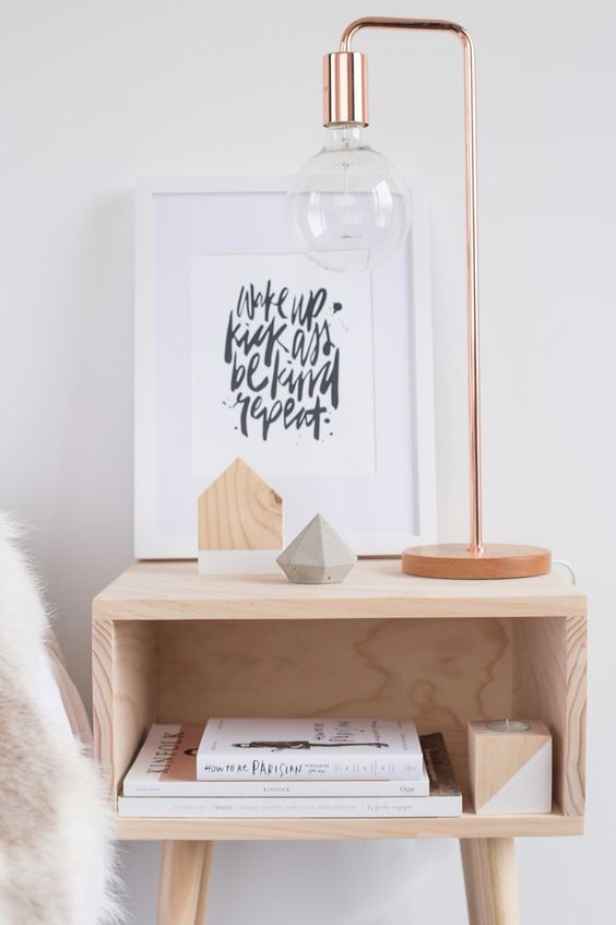 10 stylish bedside table designs that fit in modern Night table ideas