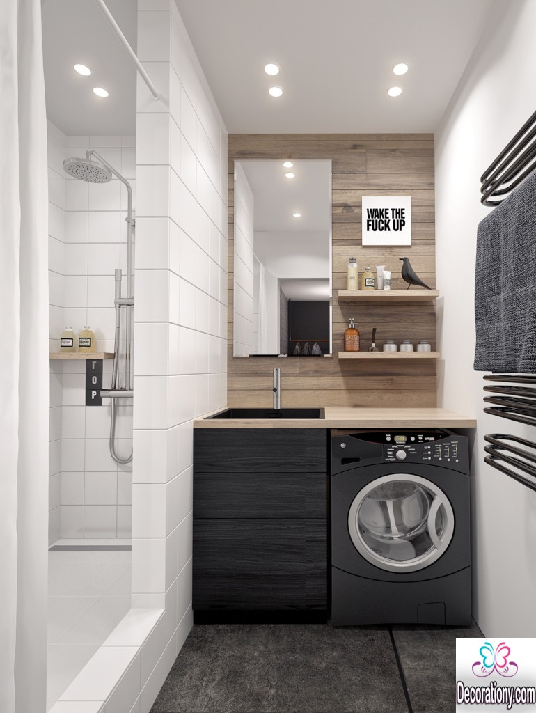 Ultra modern laundry room ideas for a small space Small space interior design
